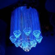 Fibre Optic chandelier - The Drop